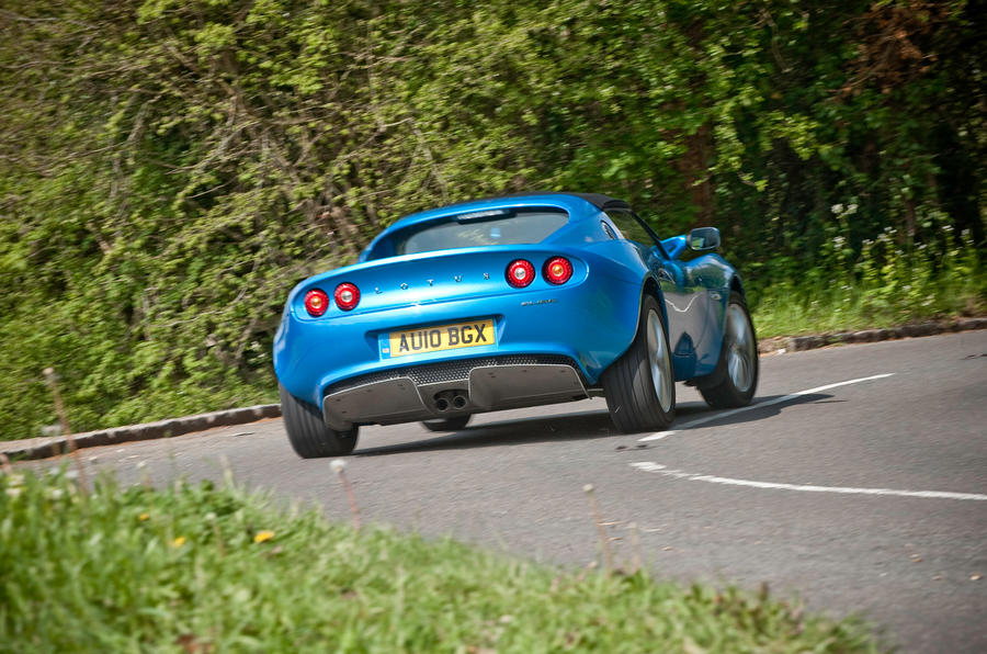 Lotus Elise rear cornering
