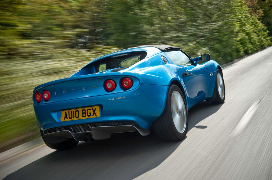 Lotus Elise rear quarter