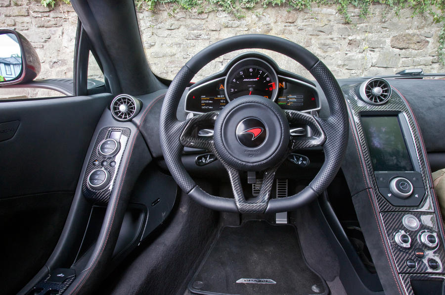 McLaren 12C dashboard