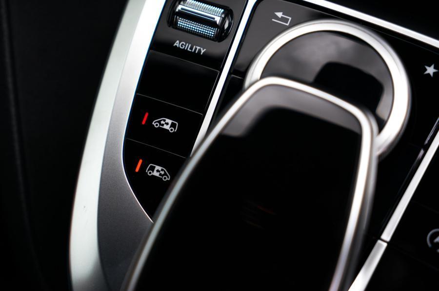 Mercedes-Benz V-Class infotainment controls
