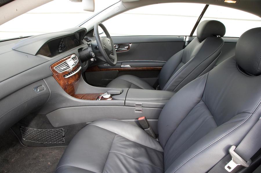 Mercedes-Benz CL interior