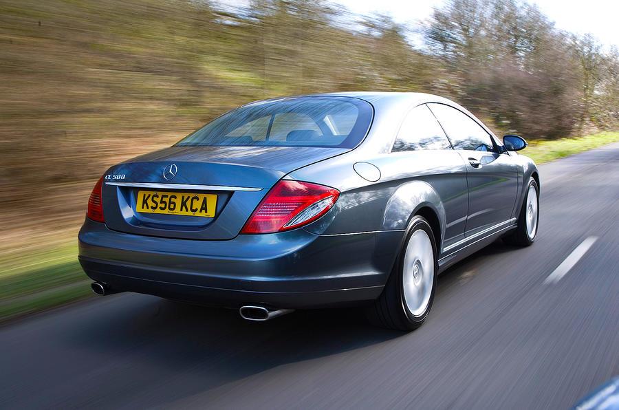 Mercedes-Benz CL rear quarter