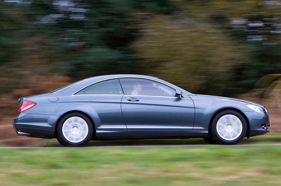 Mercedes-Benz CL side profile