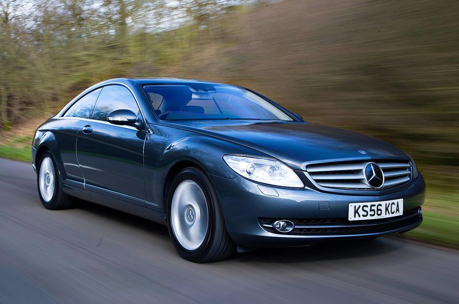4.5 star Mercedes-Benz CL