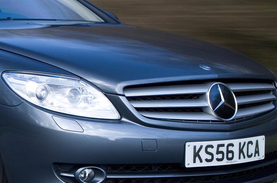 Mercedes-Benz CL front grille