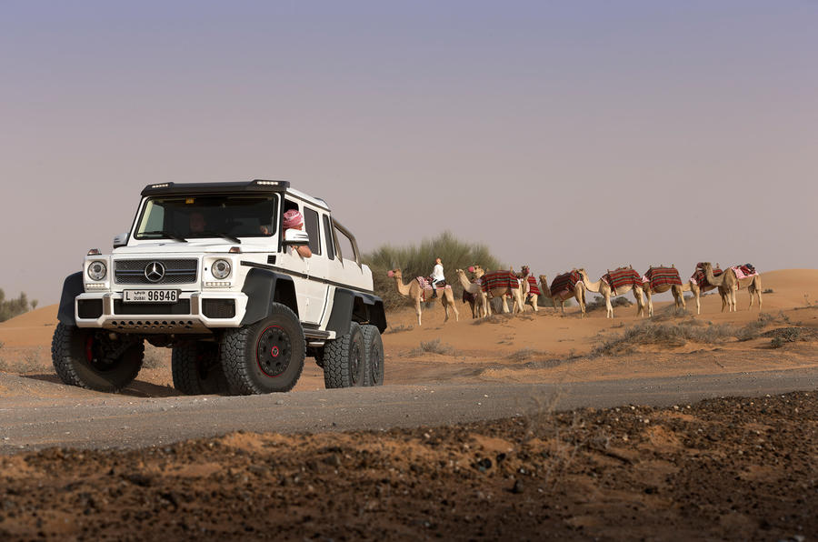The £370,000 Mercedes-AMG G 63 6x6 is not quite as expensive as the SLS Electric Drive
