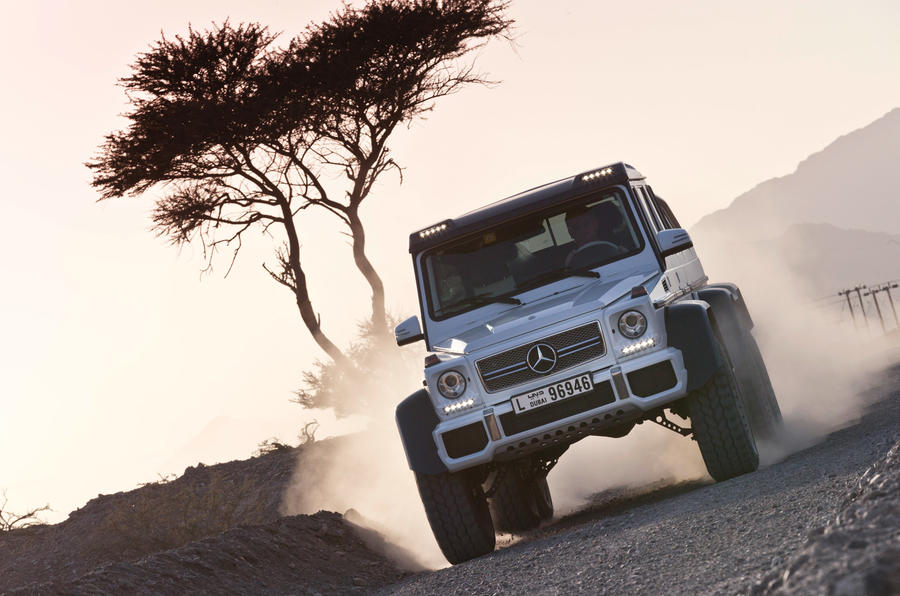 The Mercedes-AMG G 63 6x6 was originally developed for the Australian military