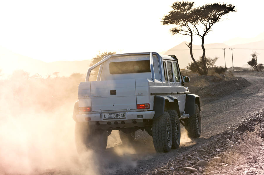 The Mercedes-AMG G 63 6x6 will be built on a limited basis at Mercedes-Benz's plant in Graz, Austria