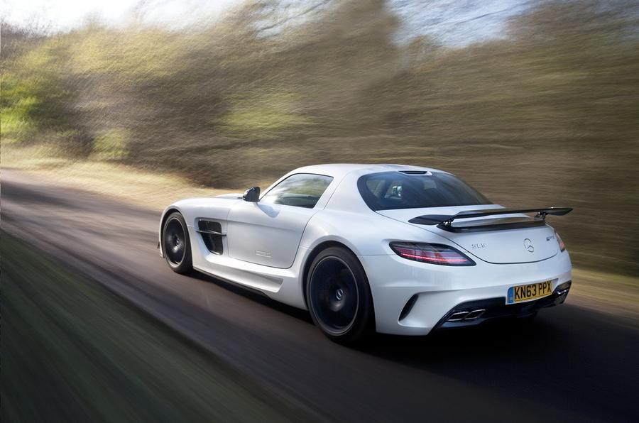 Mercedes-AMG SLS Black Series rear