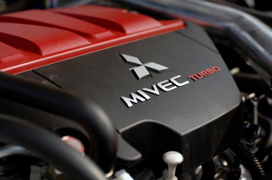 Mitsubishi Evo X engine block