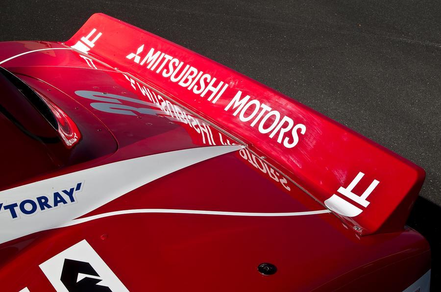 Mitsubishi iMiEV Evo rear spoiler