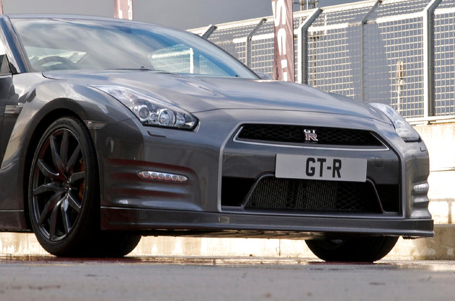 Nissan GT-R front end