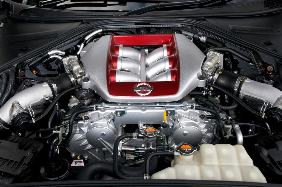 3.8-litre Nissan GT-R engine
