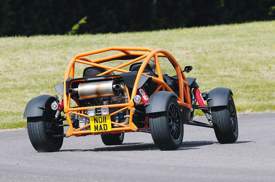 Impeccably controlled Ariel Nomad