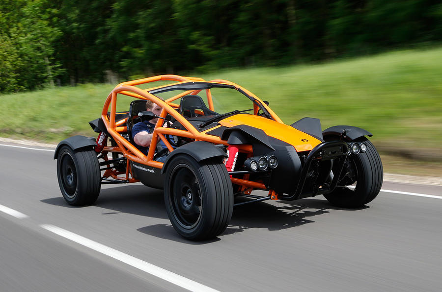 The 5 star Ariel Nomad