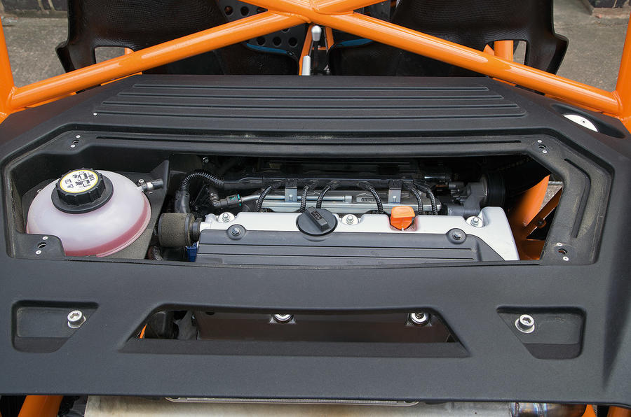 Ariel Nomad's 2.4-litre Honda engine
