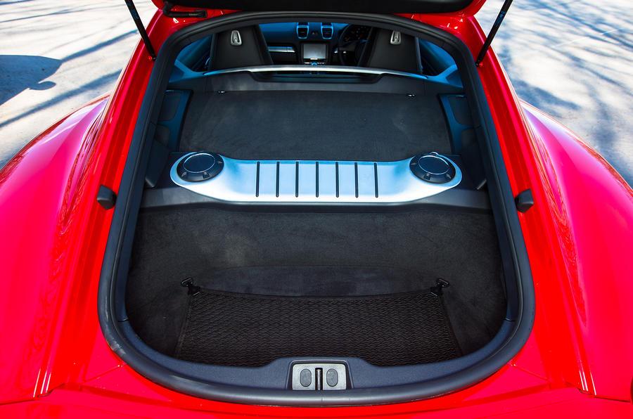 Porsche Cayman boot space