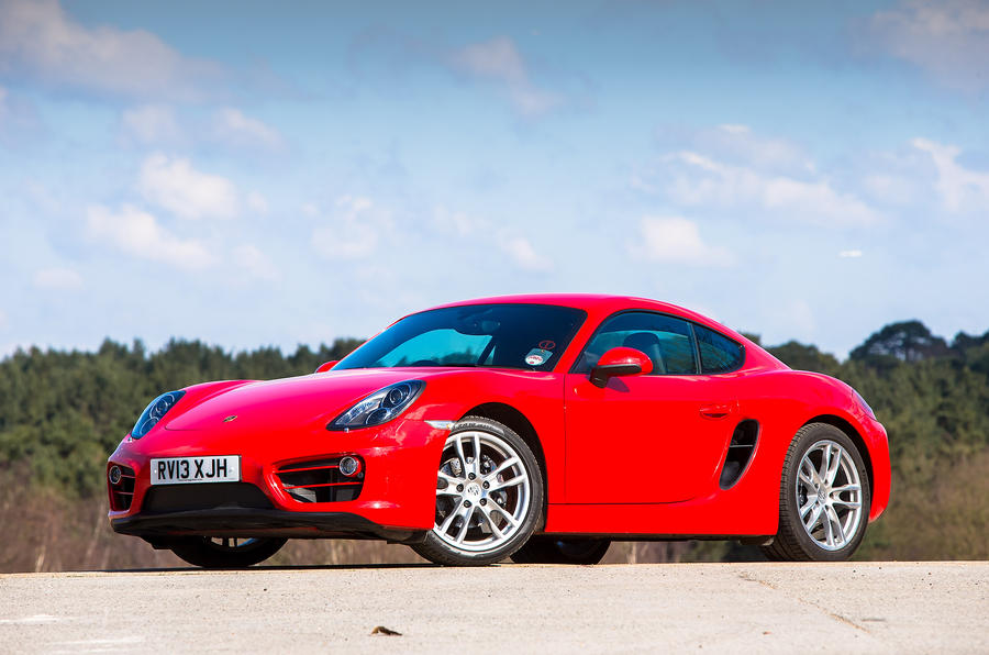 5 star Porsche Cayman