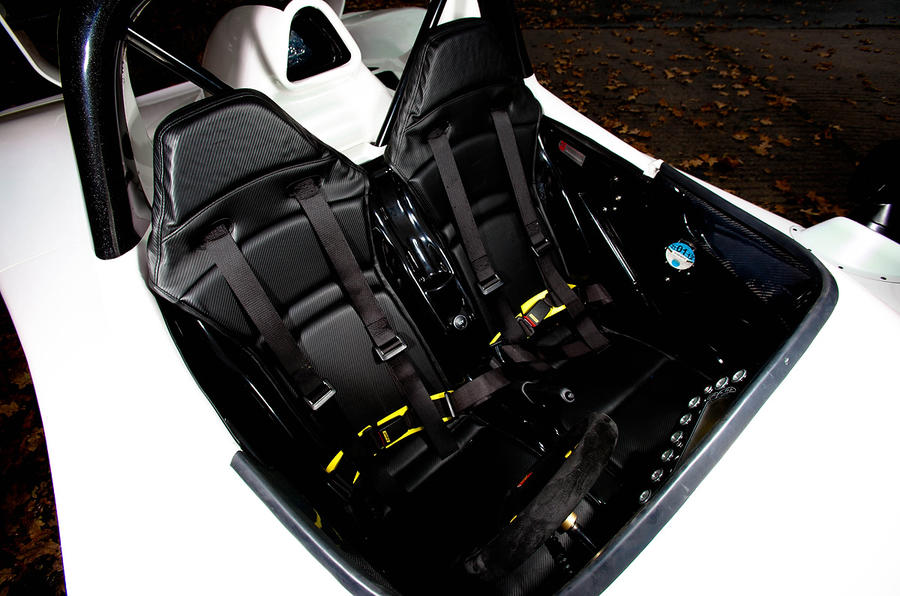 Radical SR3 SL sport seats