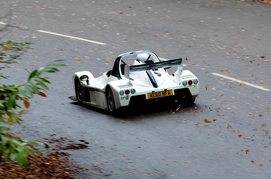 Radical SR3 SL rear cornering