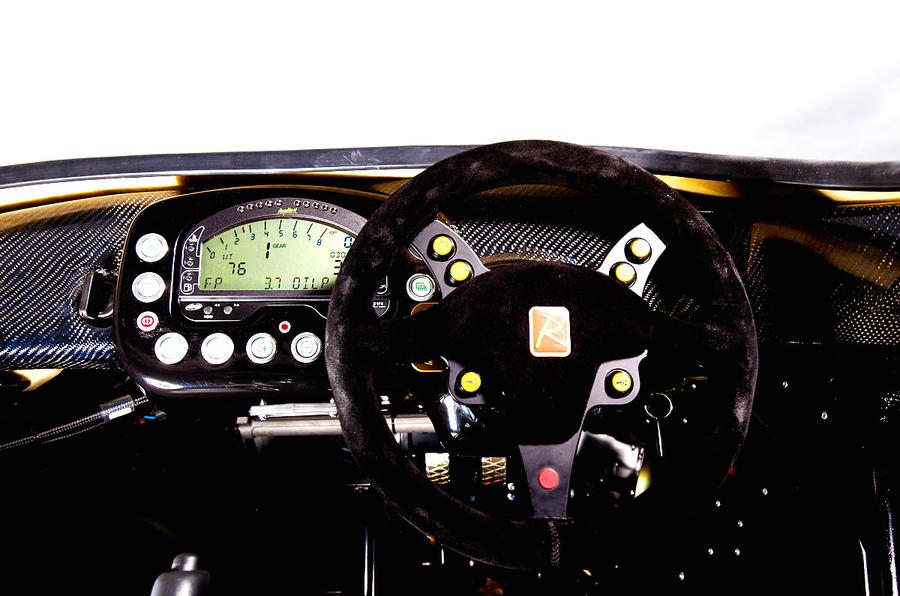 Radical SR3 SL dashboard