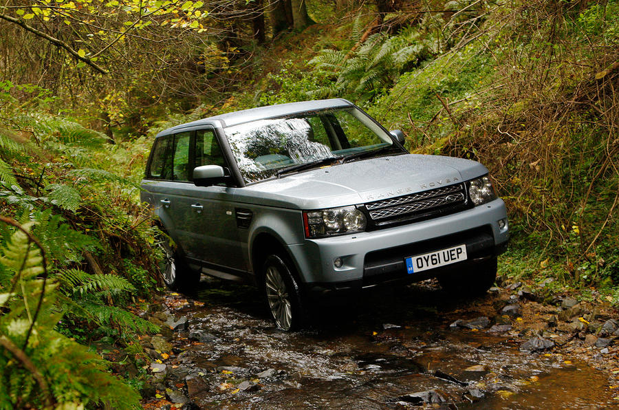 Range Rover Sport off-road