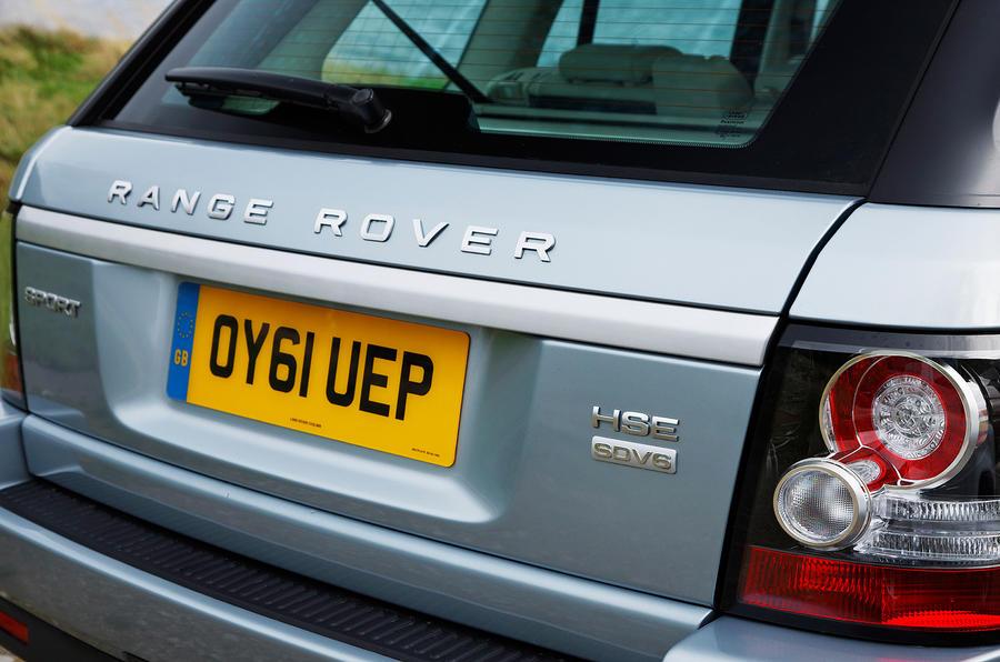 Range Rover Sport tailgate