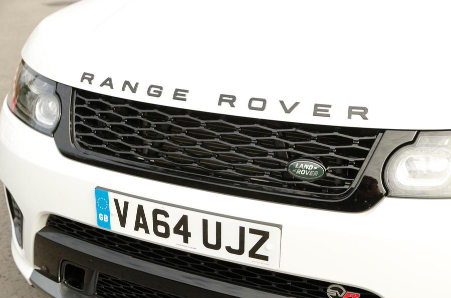 Range Rover SVR front grille
