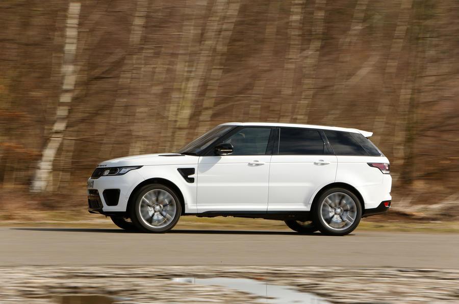 Range Rover SVR side profile