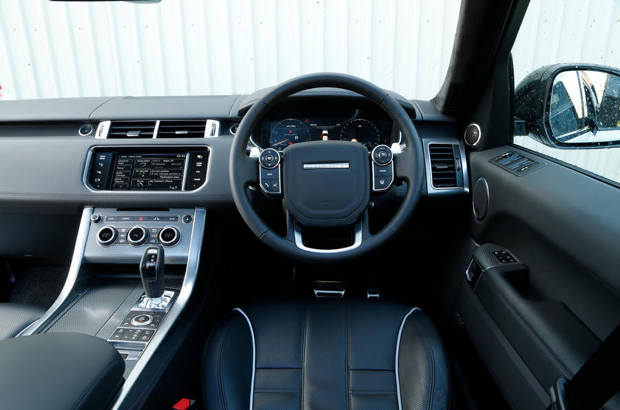 Range Rover SVR dashboard