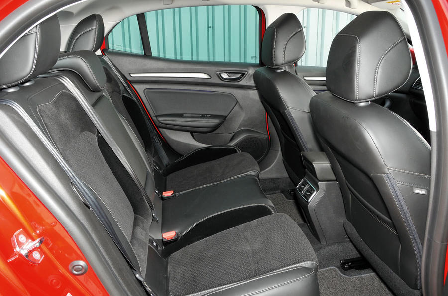 Renault Megane rear seats