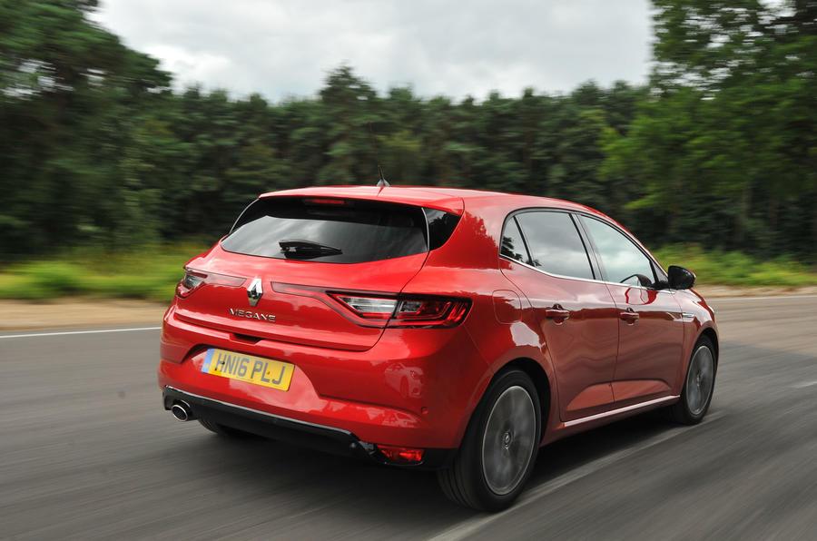 Renault Megane rear