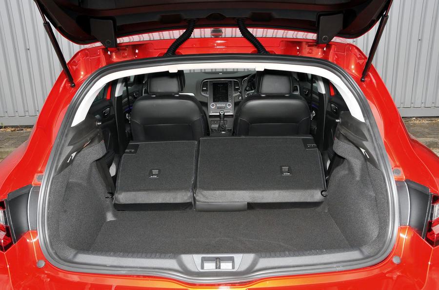 Renault Megane seating flexibility