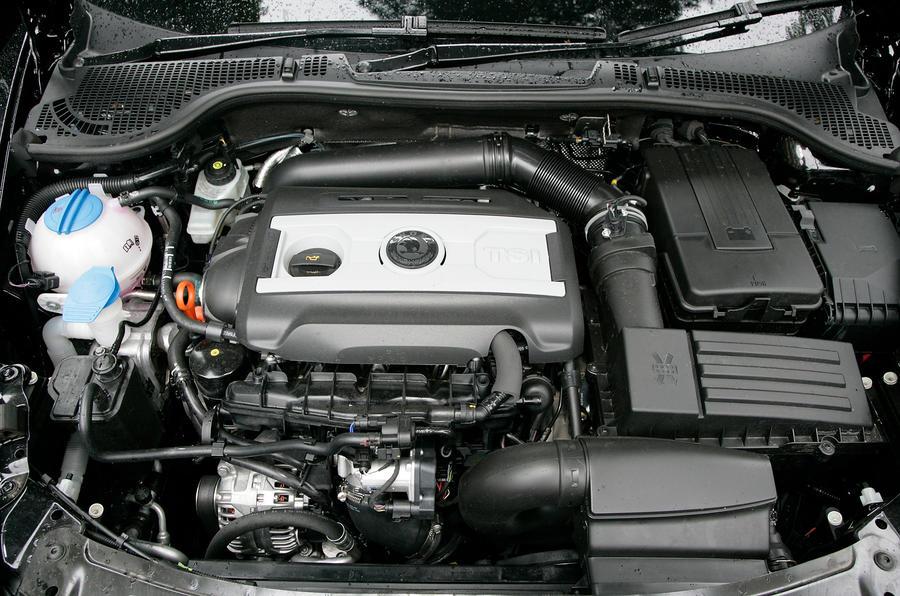 1.4-litre TSI Skoda Octavia engine