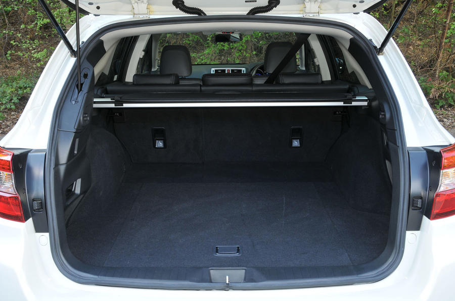 Subaru Outback boot space