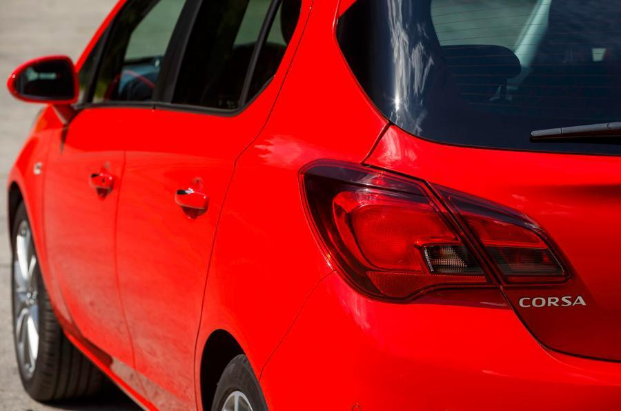 Vauxhall Corsa tailight
