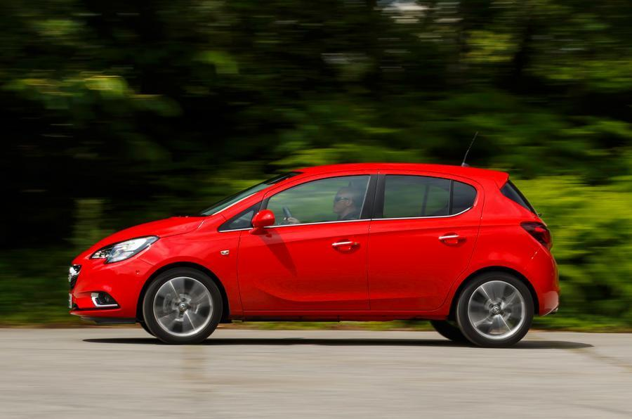 Vauxhall Corsa side profile