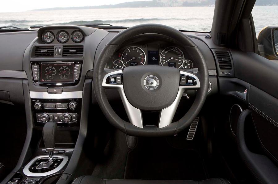 Vauxhall VXR8 dashboard