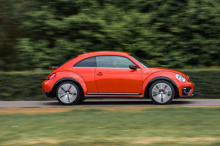 Volkswagen Beetle side profile