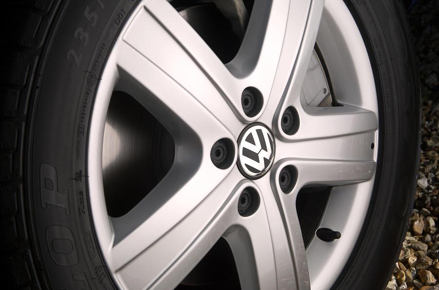 15in Volkswagen Caravelle alloy wheels