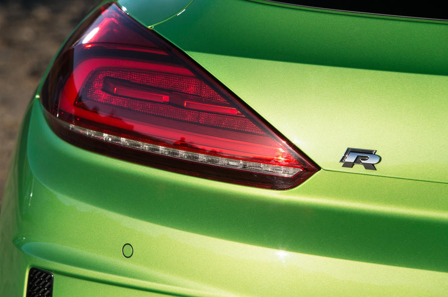 Volkswagen Scirocco R rear lights