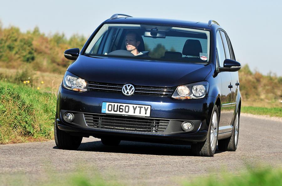 Volkswagen Touran cornering