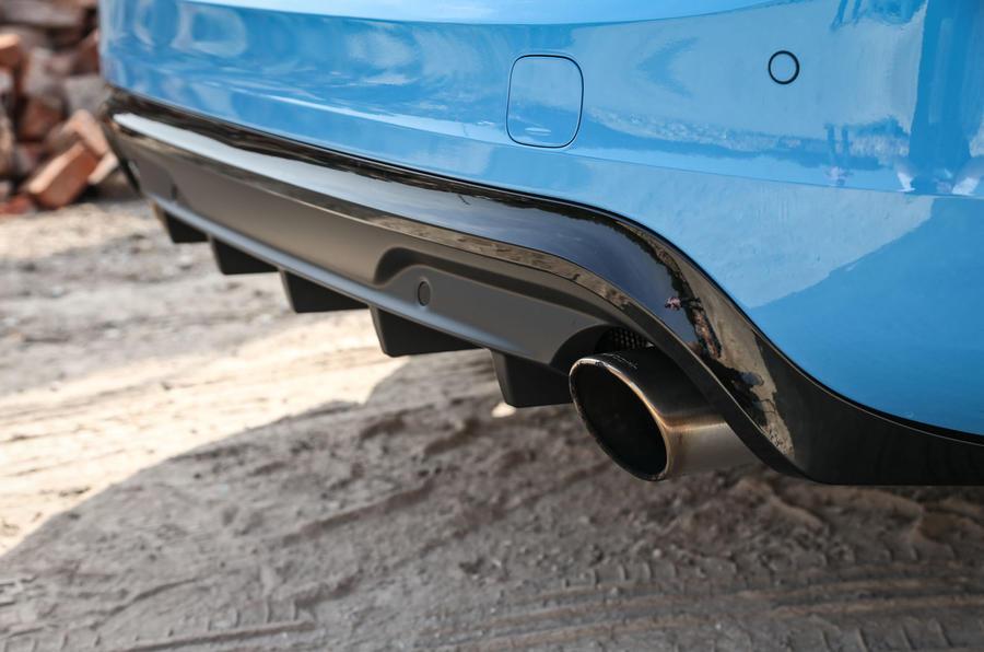 Volvo V60 Polestar rear diffuser