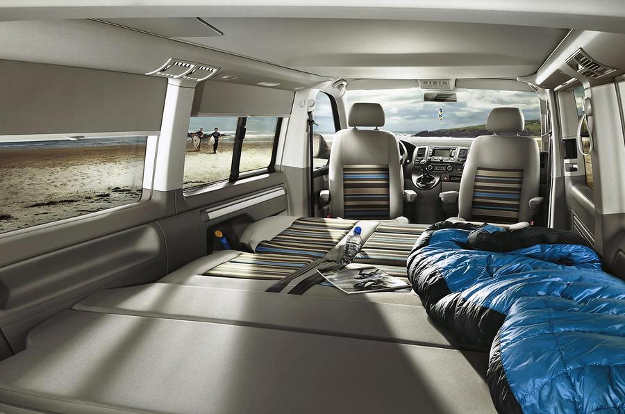 Volkswagen California living space