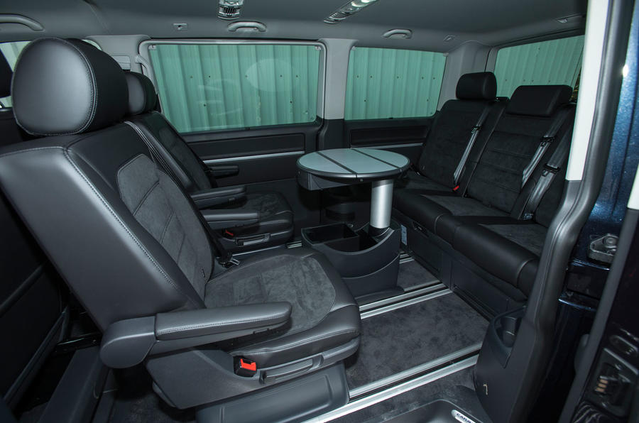 Volkswagen Caravelle conference seating