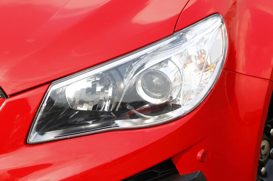 Vauxhall VXR8 GTS xenon headlights