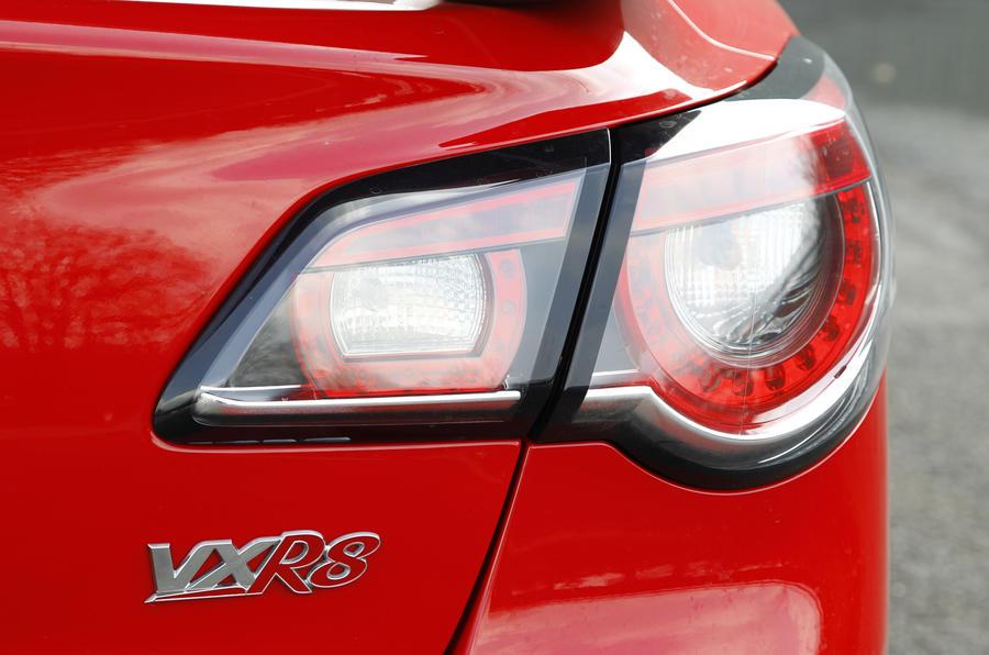 Vauxhall VXR8 GTS rear lights