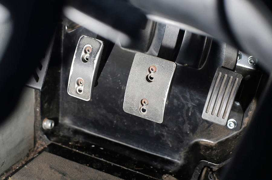Zenos E10 S aluminium pedals