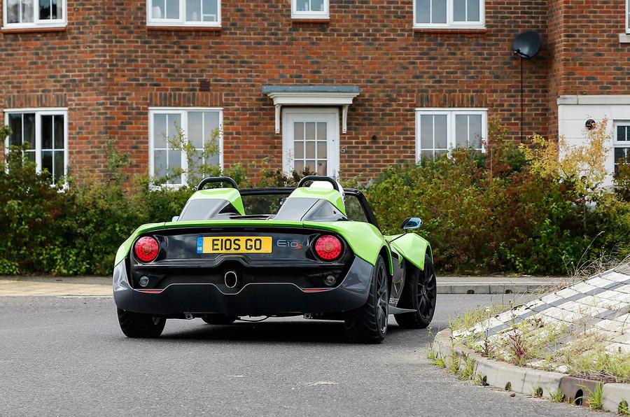 Zenos E10 S rear cornering