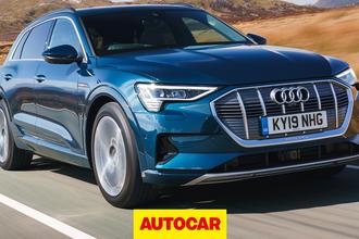 Audi e-tron video review thumbnail